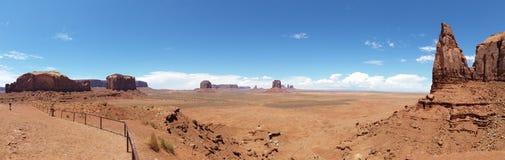 Panoramatic foto av monumentdalnationalparken, USA royaltyfria foton
