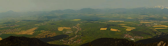 panoramatic sikt 3 Arkivbild