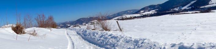 Panoramatik Montain Стоковое Изображение RF