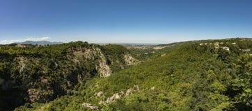 Panoramautsikt Abruzzo Royaltyfri Foto