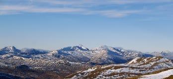 Panoramautsikt av Ben Lomond Royaltyfria Bilder