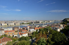 Panoramautsikt av Budapest 7 Royaltyfria Bilder