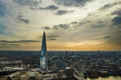 Panoramautsikt av den London staden Royaltyfria Foton