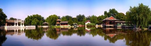 Panoramautsikt av den storslagna siktsträdgården, Royaltyfri Foto