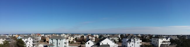 Panoramautsikt av en del av Corolla Royaltyfri Foto
