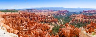 Panoramautsikt av härliga Bryce Canyon Royaltyfri Fotografi