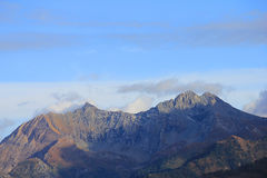 Panoramautsikt av italienska berg Royaltyfri Foto