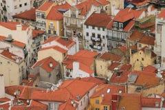 Panoramautsikt av Lissabon royaltyfri bild