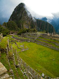Panoramautsikt av Machu Picchu Royaltyfri Bild
