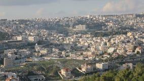 Panoramautsikt av Nazareth arkivfilmer