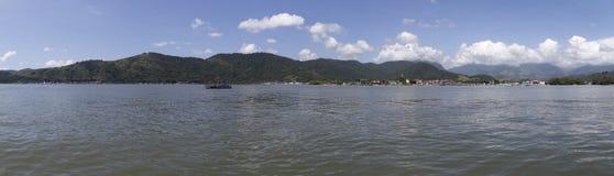 Panoramautsikt av Paraty - Rio de Janeiro, Brasilien Arkivfoto