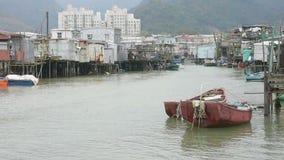 Panoramautsikt av Tai-nolla-byn lager videofilmer
