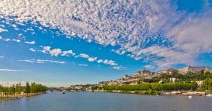 Panoramautsikt från Coimbra Fotografering för Bildbyråer