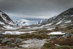 Panoramautsikt från touristic väg 258 royaltyfria foton