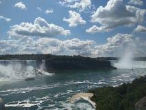 Panoramautsikt Niagara Falls Royaltyfri Bild