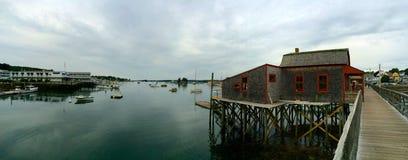 Panoramautsikthamn Royaltyfri Fotografi