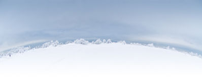 panoramavinter Royaltyfri Fotografi