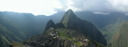 Panorame macchu picchu Stock Photography