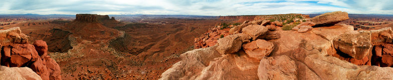 Panoramic Royalty Free Stock Photography