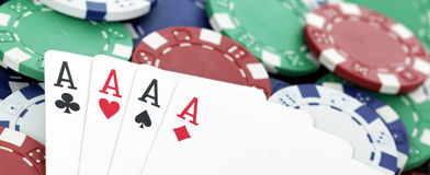 Panoramic aces Stock Image