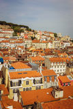 Panoramic aerial view of Lisbon Royalty Free Stock Image