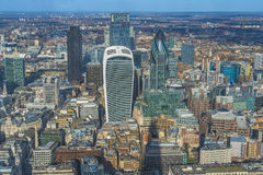 Panoramic aerial view of London Stock Images