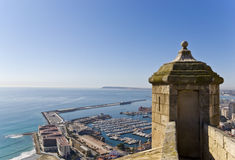 Panoramic of Alicante Royalty Free Stock Photography