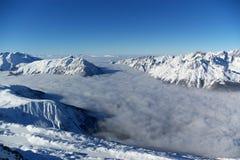 Panoramic Alps view Stock Image