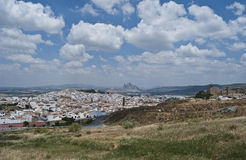 Panoramic antequera Stock Photography