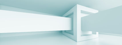 Panoramic Architecture Background Royalty Free Stock Photos