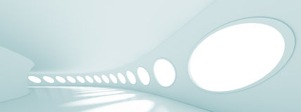Panoramic Architecture Background Royalty Free Stock Image