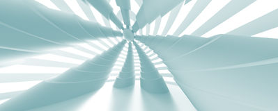 Panoramic Architecture Background. 3d Abstract Panoramic Architecture Background Royalty Free Stock Images