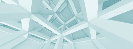 Panoramic Architecture Concept Royalty Free Stock Photo