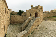 Panoramic of Artajona Royalty Free Stock Photo