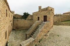 Panoramic of Artajona Royalty Free Stock Photo