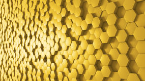 Panoramic Background Hive Royalty Free Stock Photo