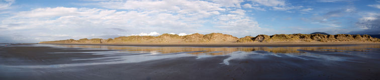 Panoramic in Barmouth. Wales Stock Photo