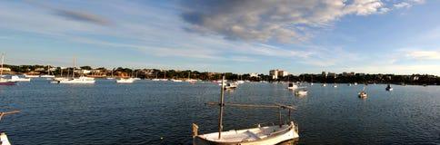 Panoramic Bay stock image