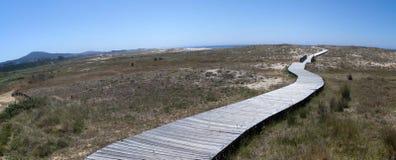 Panoramic Beach. Beach of Galicia Panoramic view Royalty Free Stock Image