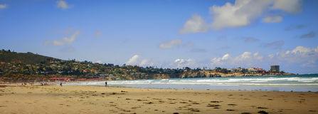 Panoramic Beach, La Jolla, California Stock Photo