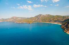 Panoramic bird's-eye view on Turkey, Oludeniz. Stock Photos