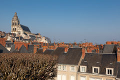 Panoramic of Blois Royalty Free Stock Photography