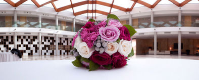 Panoramic bouquet Royalty Free Stock Photos