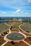 Panoramic of Brasilia, Brazil Stock Image