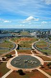 Panoramic of Brasilia, Brazil Stock Image