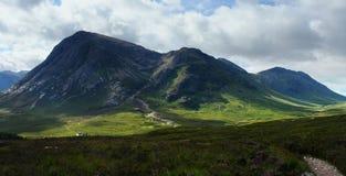 Panoramic Buachaille Etive Mor Stock Photo