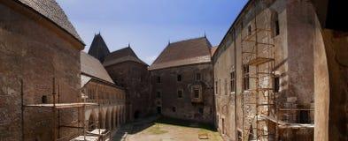 Panoramic Castle Stock Photo