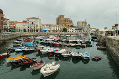 Panoramic of Castro Urdiales Royalty Free Stock Photo