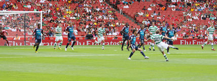 Panoramic Celtic strike Stock Image