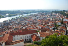 Panoramic city. Royalty Free Stock Images